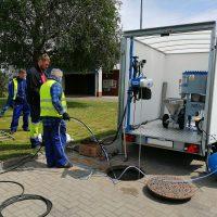 Zestaw do renowacj studni w zabudowie