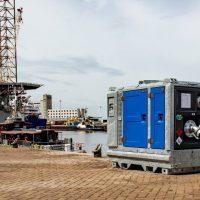 BA100K D193 mobile pump for dewatering BBA Pumps