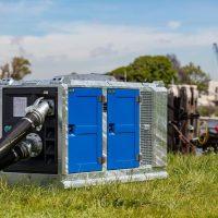 BA150E D285 portable pump in canopy M10-23 BBA Pumps