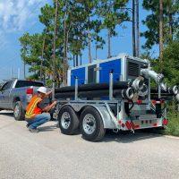 BA150E D285 trailer mounted BBA Pumps