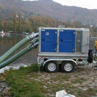 BA150E D285 trailer mounted flood control BBA Pumps