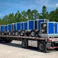 BA150E D285 trailer mounted pumps shipment BBA Pumps