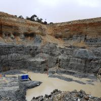 BA150E diesel driven gold mine dewatering