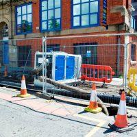 BA150E in M10-23 sewage bypass pumping BBA Pumps
